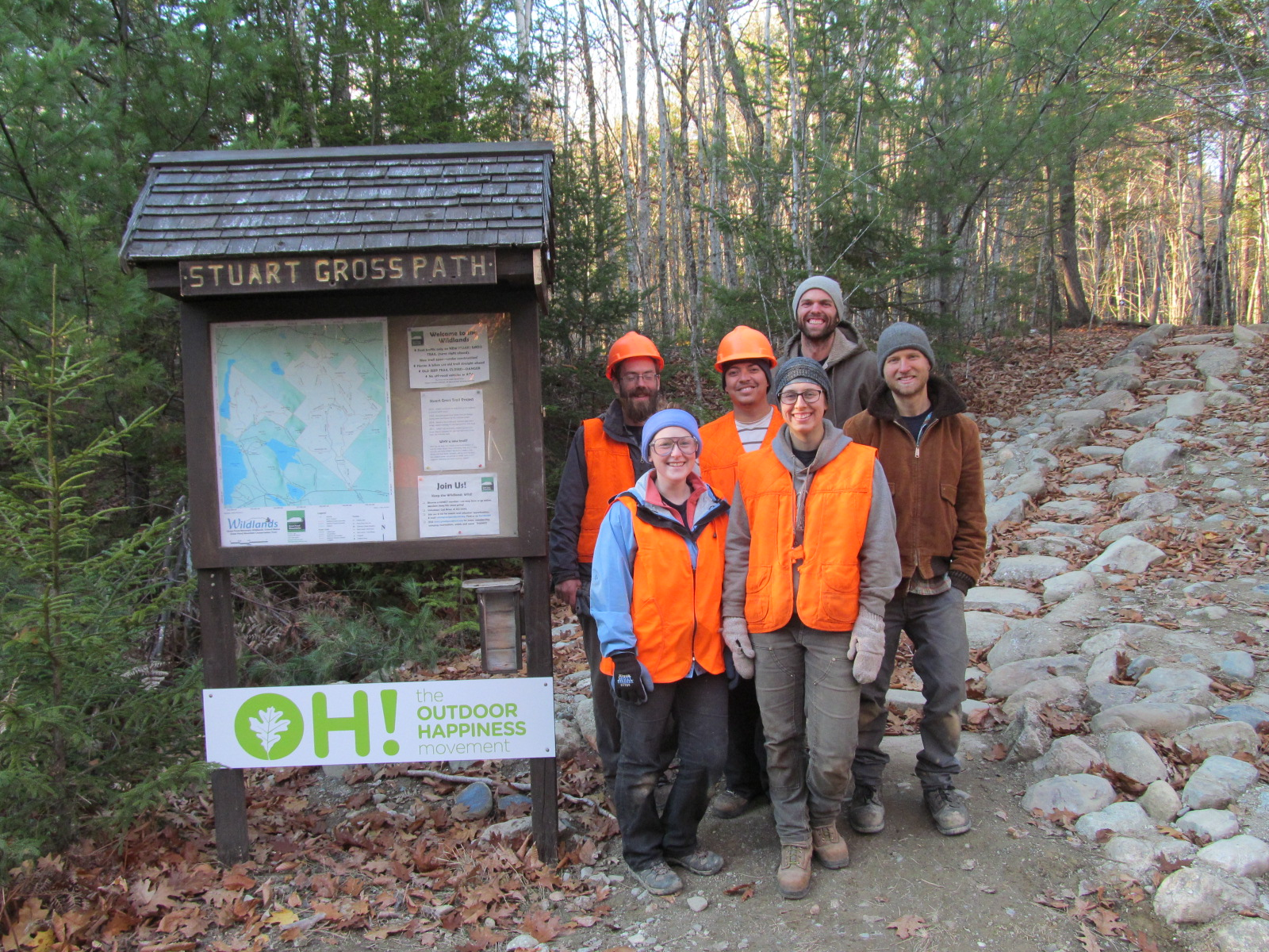 Thanks, Maine Conservation Corps!