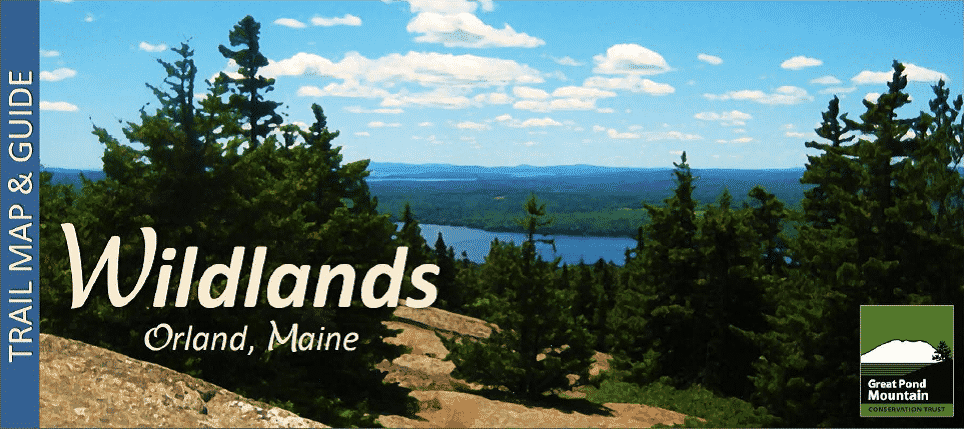 Orland Maine Map.Access Maps Great Pond Mountain Conservation Trust