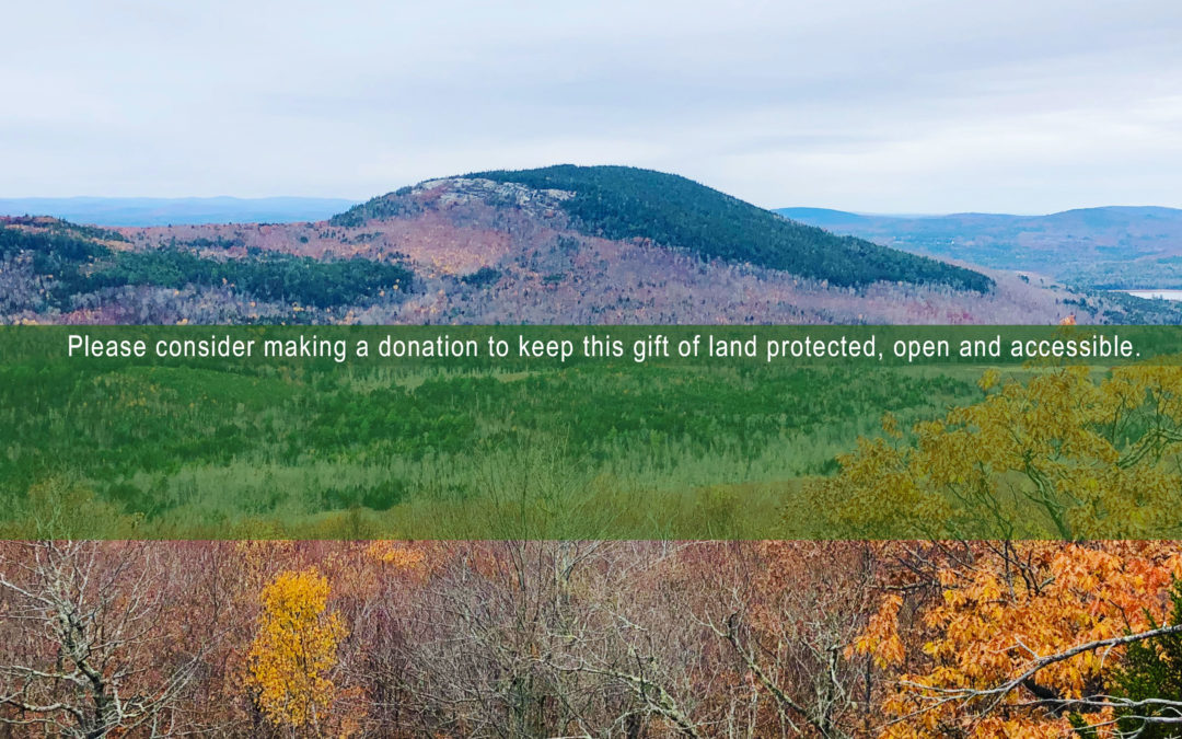 Support Great Pond Mountain Conservation Trust
